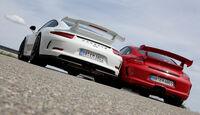 Porsche 911 GT3, Heckansicht