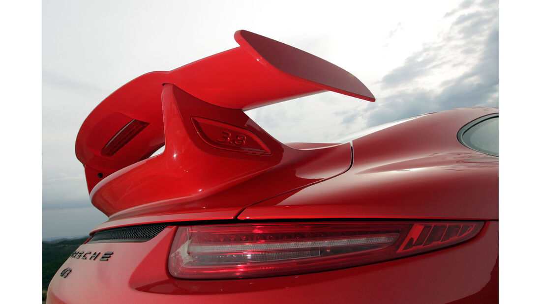 Porsche 911 GT3, Heckspoiler