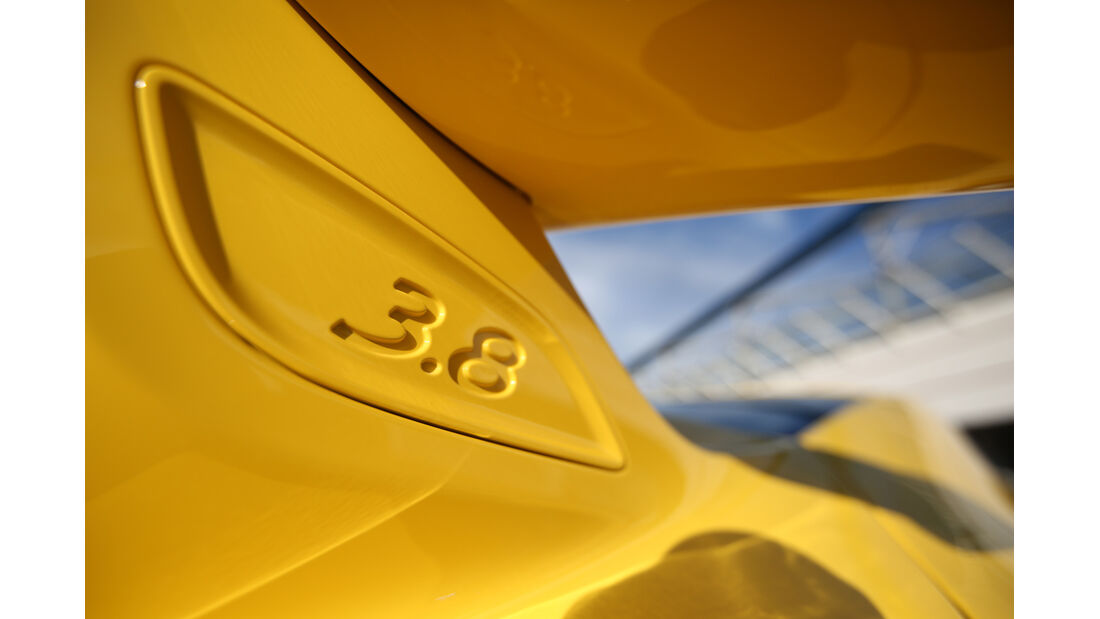 Porsche 911 GT3, Heckspoiler, Detail