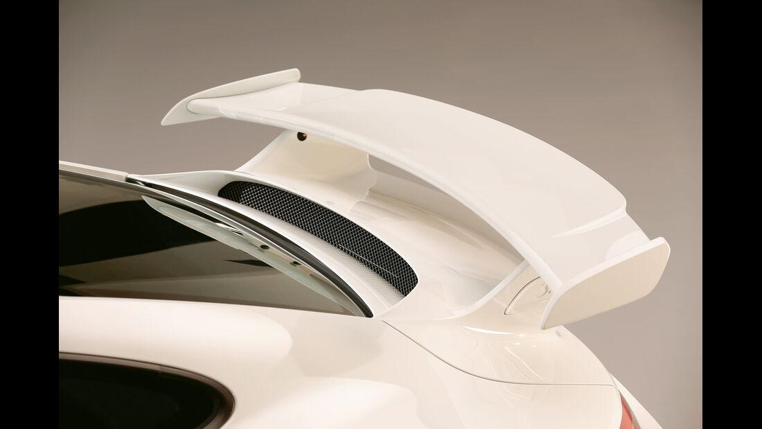 Porsche 911 GT3, Heckspoiler, Heckschürze