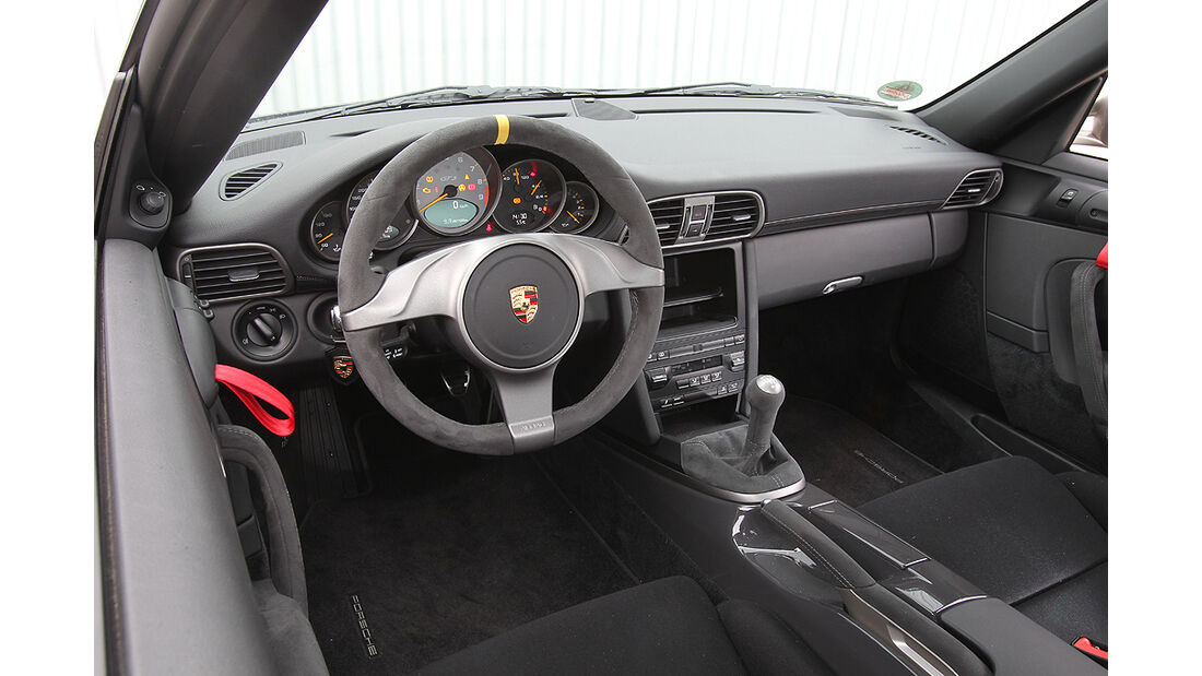 Porsche 911 GT3, Innenraum, Cockpit