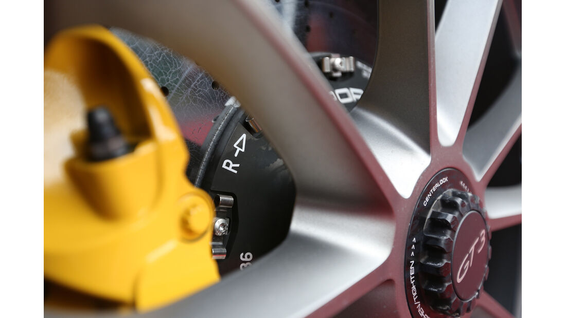 Porsche 911 GT3, Keramik-Bremse