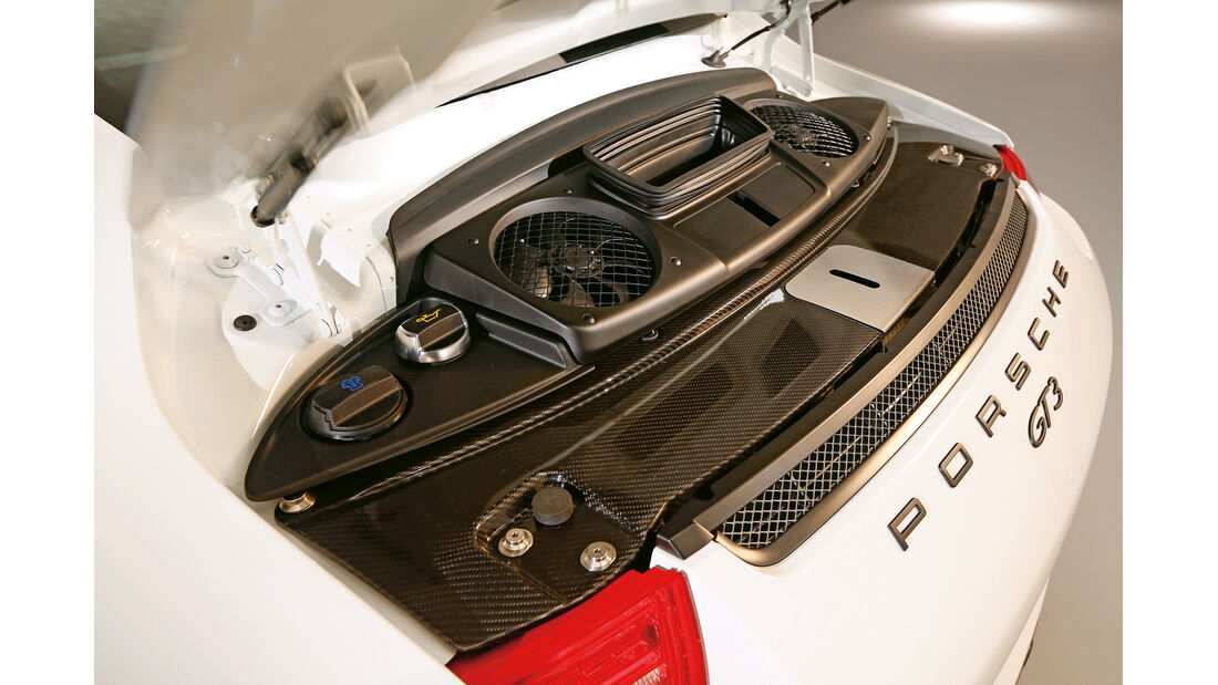 Porsche 911 GT3, Motor