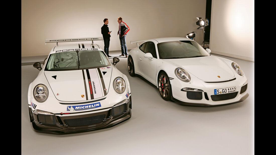 Porsche 911 GT3, Porsche 911 GT3 Cup, Frontansicht