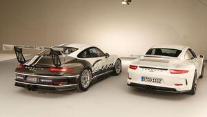 Porsche 911 GT3, Porsche 911 GT3 Cup, Heckansicht