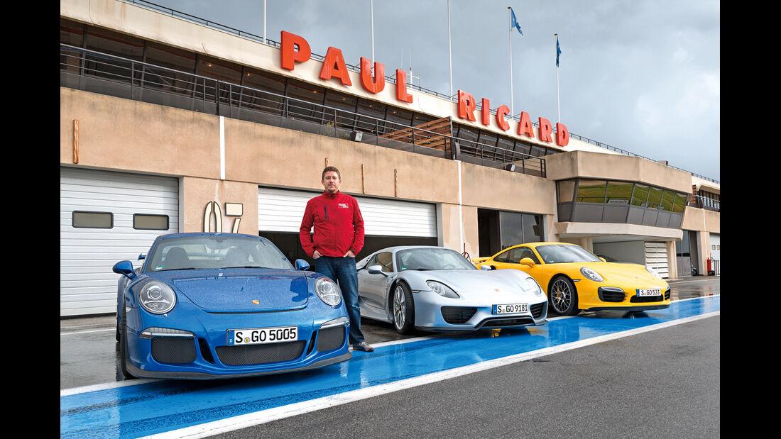 Porsche 911 GT3, Porsche 918 Spyder, Porsche 911 GT3, Le Castellet, Jens Dralle