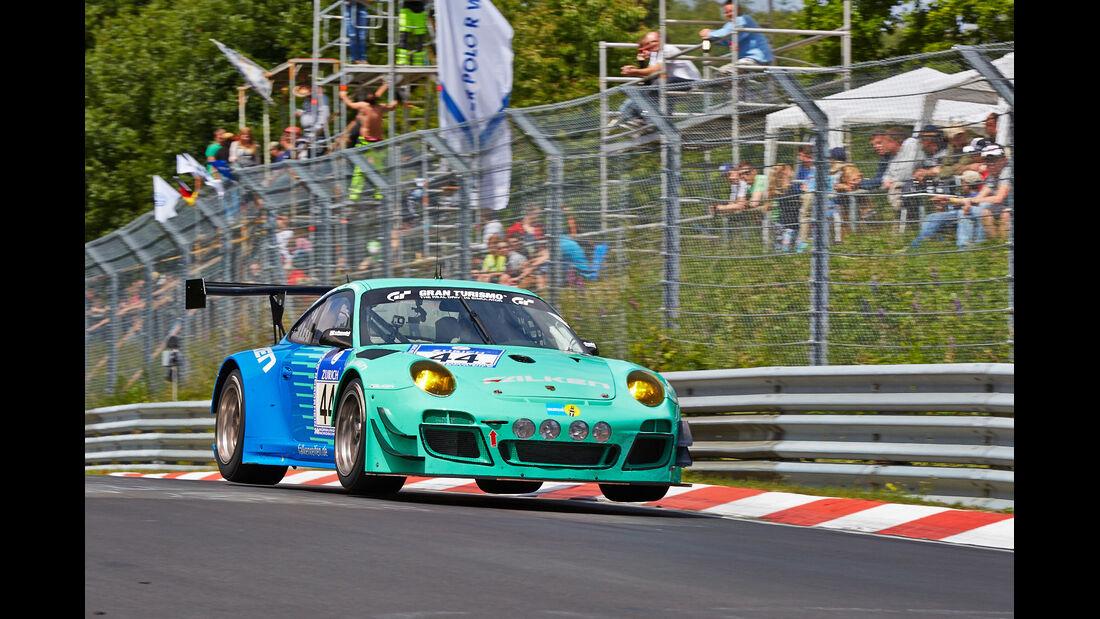 Porsche 911 GT3 R 97 - Falken Motorsports - Impressionen - 24h-Rennen Nürburgring 2014 - #44 - Qualifikation 1