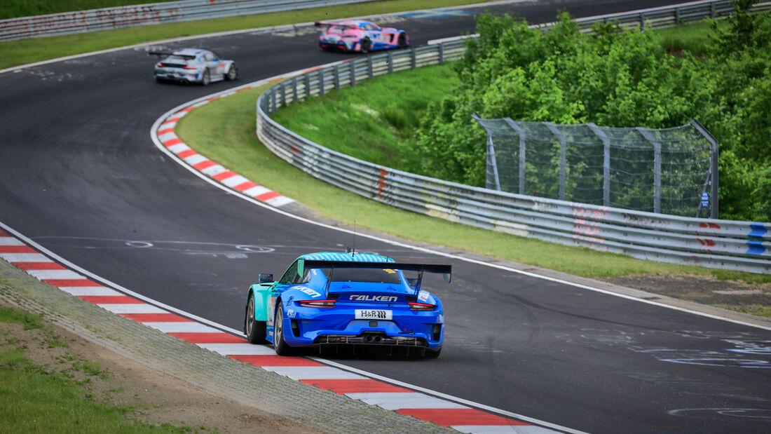 Porsche 911 GT3 R - Falken Motorsports - Startnummer 33 - 24h Rennen Nürburgring - Nürburgring-Nordschleife - 4. Juni 2021