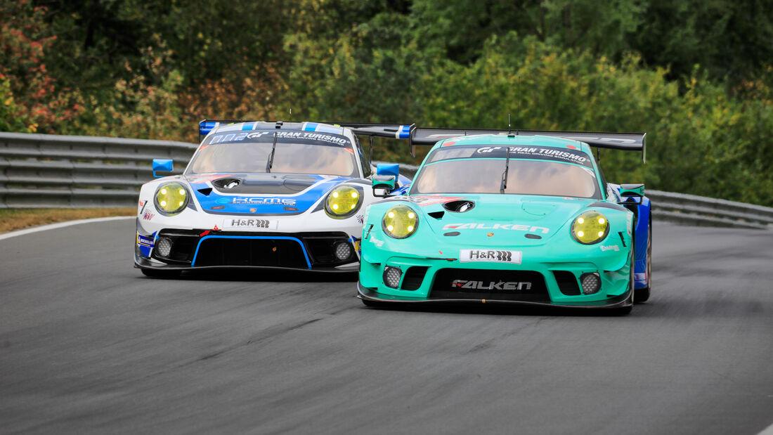 Porsche 911 GT3 R - Falken Motorsports - Startnummer #33 - 24h-Rennen - Nürburgring - Nordschleife - Donnerstag - 24. September 2020