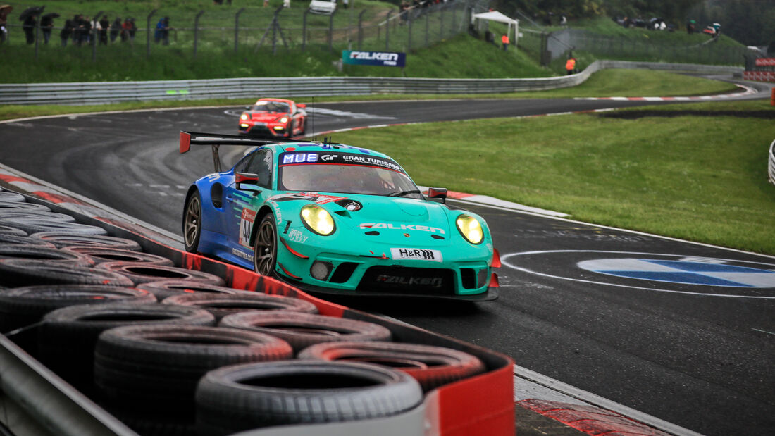 Porsche 911 GT3 R - Falken Motorsports - Startnummer #44 - 24h-Rennen Nürburgring - Nürburgring-Nordschleife - 5. Juni 2021