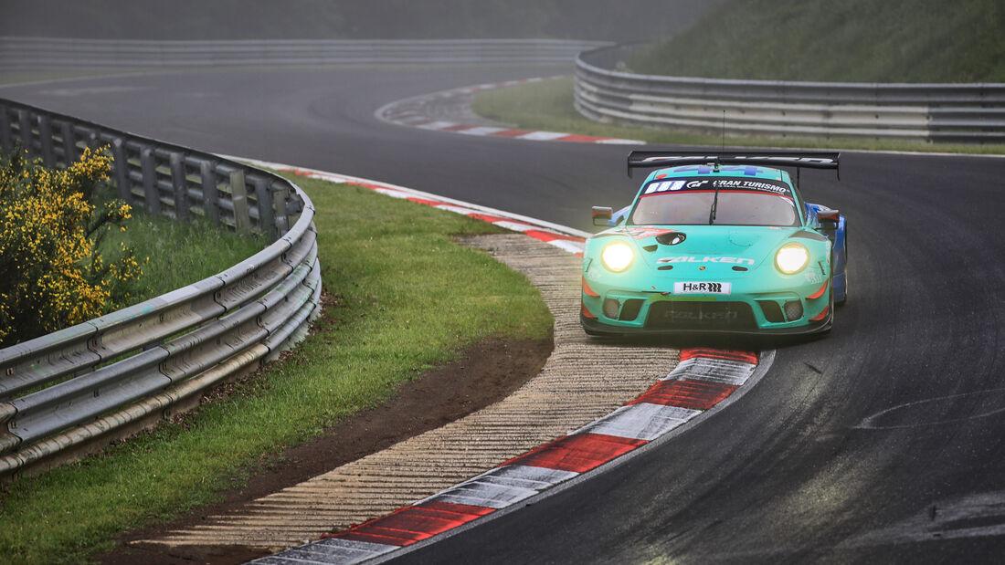 Porsche 911 GT3 R - Falken Motorsports - Startnummer #44 - 24h-Rennen Nürburgring - Nürburgring-Nordschleife - 6. Juni 2021