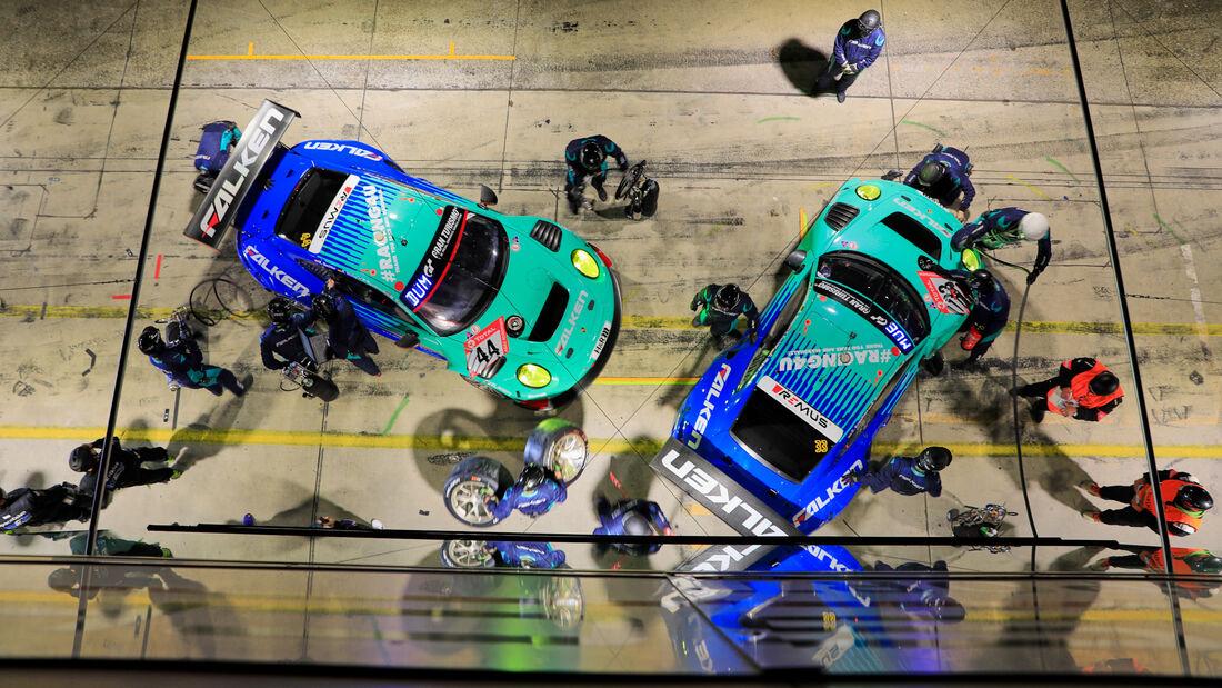 Porsche 911 GT3 R - Falken Motorsports - Startnummer #44 - 24h-Rennen - Nürburgring - Nordschleife - Donnerstag - 24. September 2020