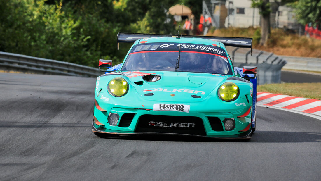 Porsche 911 GT3 R - Falken Motorsports - Startnummer #44 - Klasse: SP9 - 24h-Rennen - Nürburgring - Nordschleife - 24. bis 27. September 2020