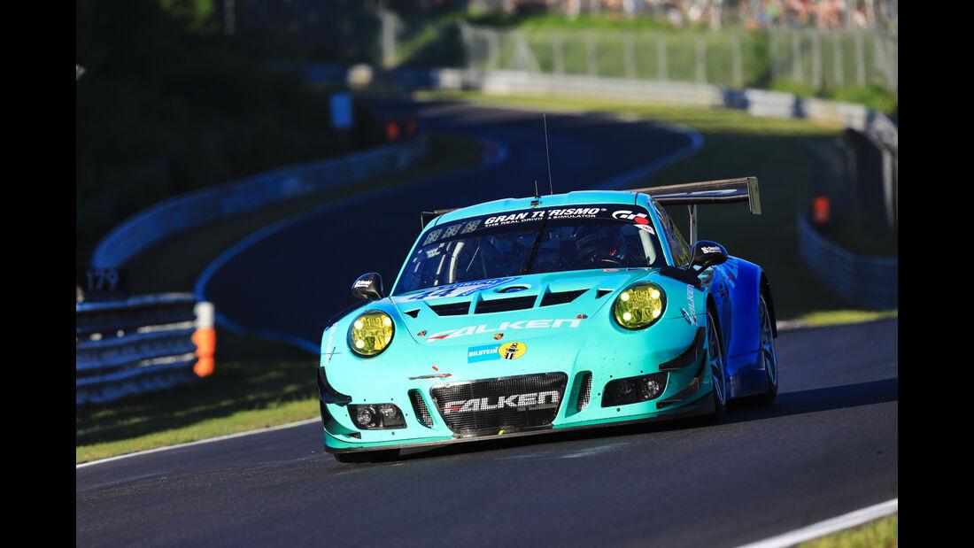 Porsche 911 GT3 R - Falken Motorsports - Startnummer #44 - Top-30-Qualifying - 24h-Rennen Nürburgring 2017 - Nordschleife