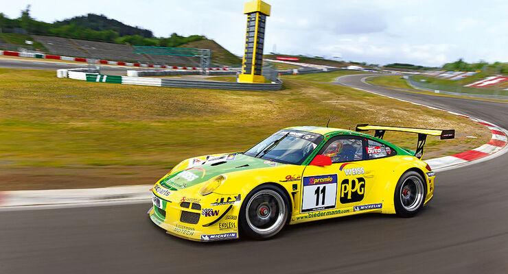 Porsche 911 GT3 R, Favoriten-Autos 24h-Rennen Nürburgring 2011