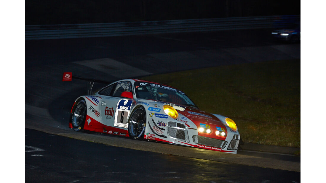 Porsche 911 GT3 R - Frikadelli Racing - #6 - 24h-Rennen Nürburgring 2014 - Qualifikation 1