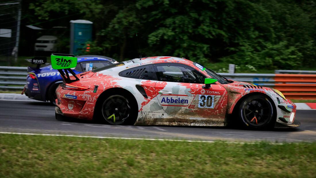 Porsche 911 GT3 R - Frikadelli Racing - Startnummer #30 - 24h-Rennen Nürburgring - Nürburgring-Nordschleife - 5. Juni 2021
