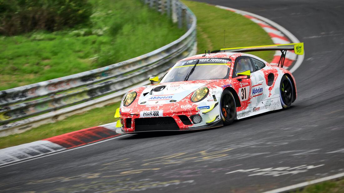 Porsche 911 GT3 R - Frikadelli Racing -  Startnummer 31 - 24h Rennen Nürburgring - Nürburgring-Nordschleife - 4. Juni 2021