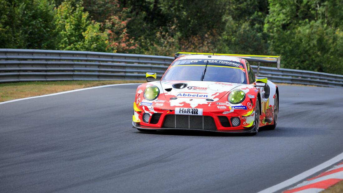 Porsche 911 GT3 R - Frikadelli Racing - Startnummer #31 - 24h-Rennen - Nürburgring - Nordschleife - Donnerstag - 24. September 2020