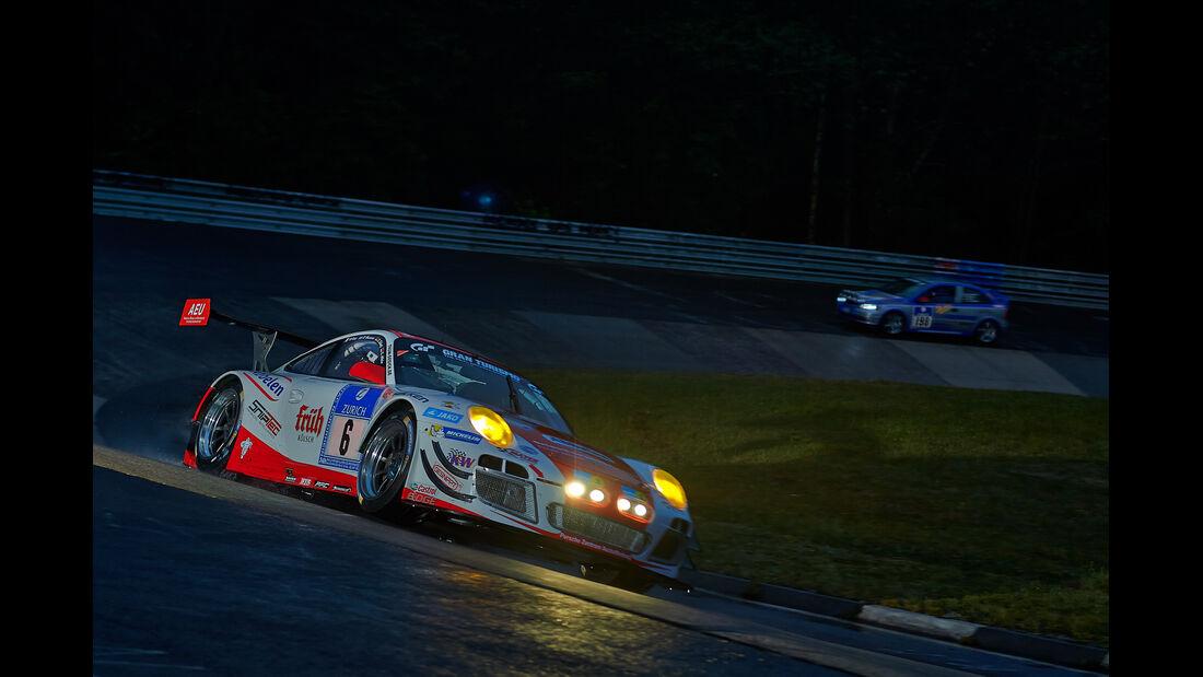 Porsche 911 GT3-R - Frikadelli-Racing-Team - #6 - 24h-Rennen Nürburgring 2014 -  Qualifikation 1