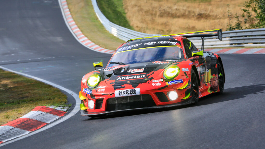 Porsche 911 GT3 R - Frikadelli Racing Team - Startnummer #30 - Klasse: SP9 Pro-Am - 24h-Rennen - Nürburgring - Nordschleife - 24. bis 27. September 2020