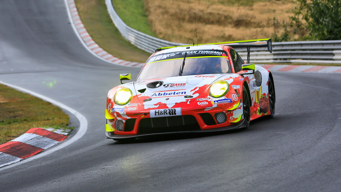 Porsche 911 GT3 R - Frikadelli Racing Team - Startnummer #31 - Klasse: SP9 - 24h-Rennen - Nürburgring - Nordschleife - 24. bis 27. September 2020