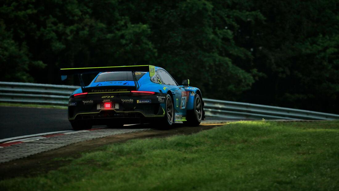 Porsche 911 GT3 R - Huber Motorsport - Startnummer #23 - 24h-Rennen Nürburgring - Nürburgring-Nordschleife - 5. Juni 2021