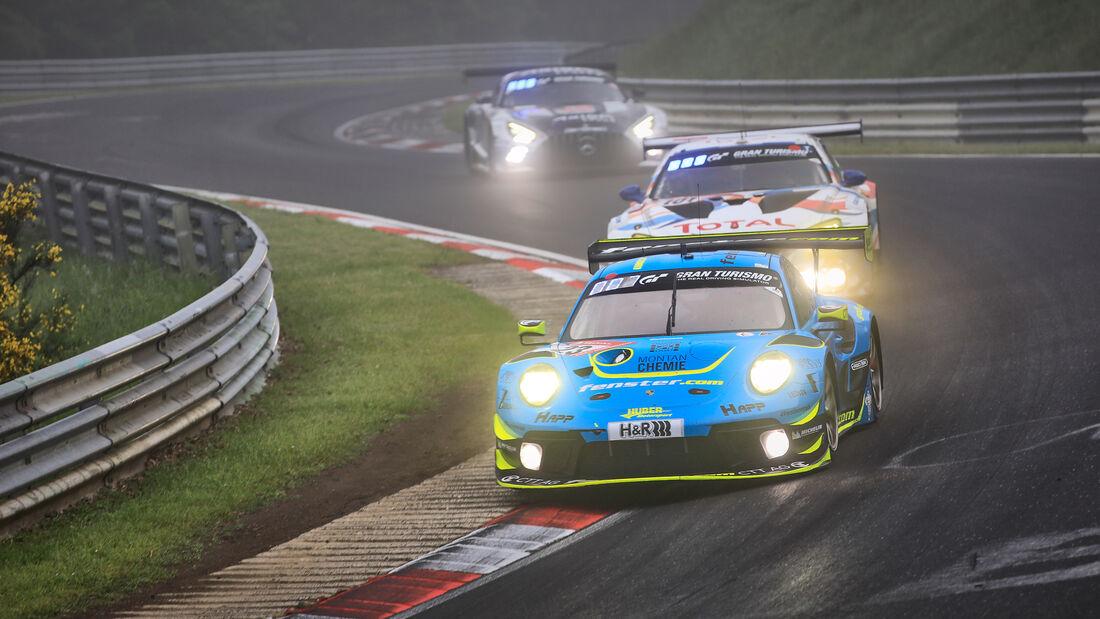 Porsche 911 GT3 R - Huber Motorsport - Startnummer #23 - 24h-Rennen Nürburgring - Nürburgring-Nordschleife - 6. Juni 2021