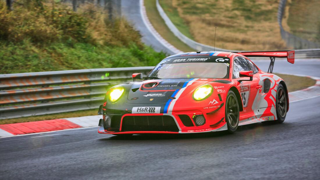 Porsche 911 GT3 R - Huber Motorsport - Startnummer  25 - 24h Rennen Nürburgring - Nürburgring-Nordschleife - 25. September 2020