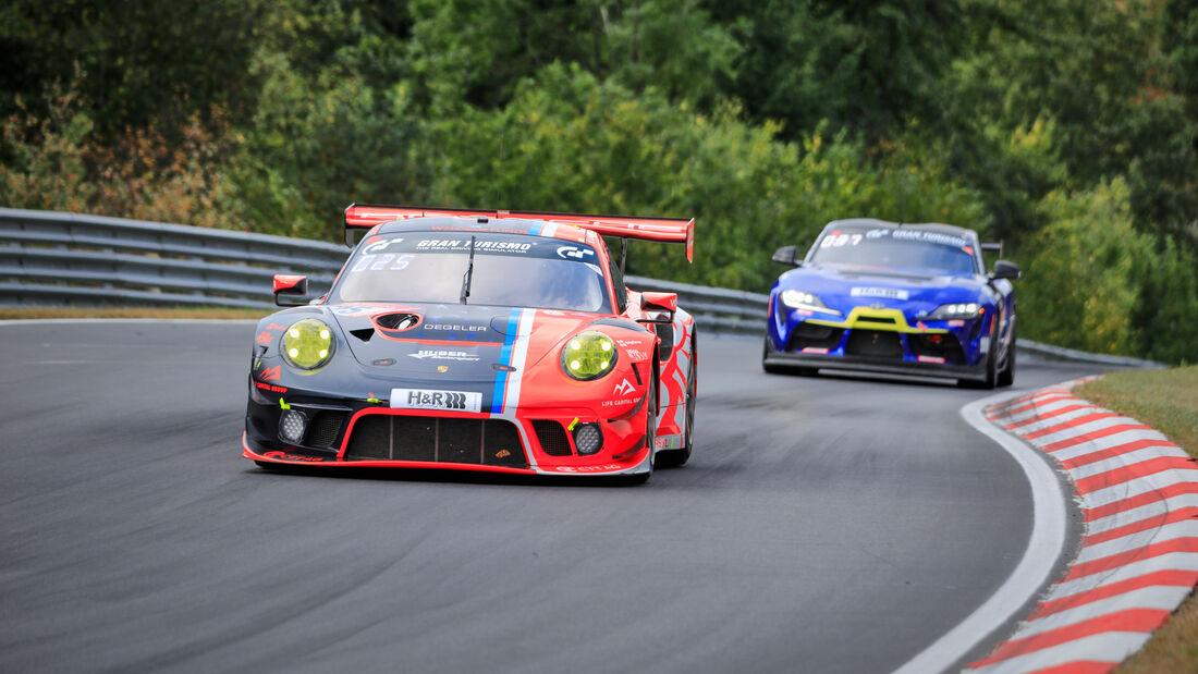 Porsche 911 GT3 R - Huber Motorsport - Startnummer #25 - 24h-Rennen - Nürburgring - Nordschleife - Donnerstag - 24. September 2020