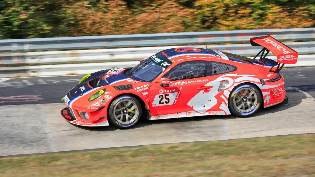 Porsche 911 GT3 R - Huber Motorsport - Startnummer #25 - Klasse: SP9 Pro - 24h-Rennen - Nürburgring - Nordschleife - 24. bis 27. September 2020