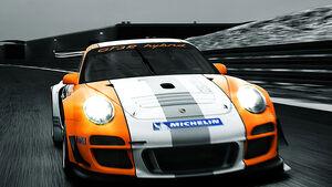 Porsche 911 GT3 R Hybrid Rennwagen