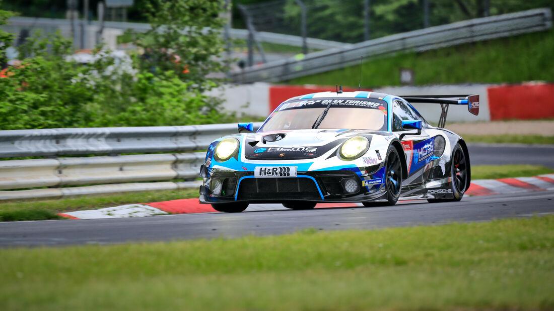 Porsche 911 GT3 R - KCMG - Startnummer 18 - 24h Rennen Nürburgring - Nürburgring-Nordschleife - 4. Juni 2021