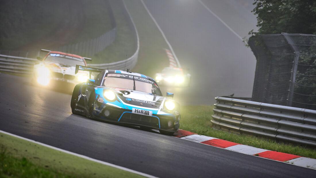 Porsche 911 GT3 R - KCMG - Startnummer #18 - 24h-Rennen Nürburgring - Nürburgring-Nordschleife - 6. Juni 2021