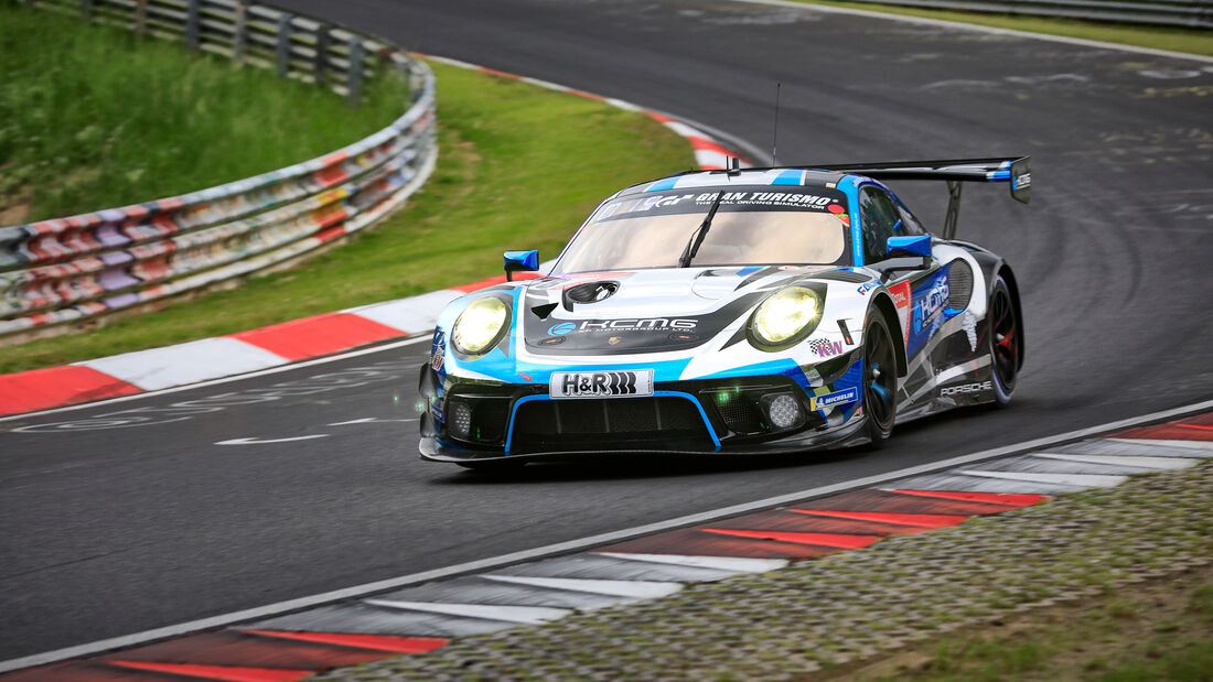 Porsche 911 GT3 R - KCMG - Startnummer #18 - Klasse: SP 9 (FIA-GT3) - 24h-Rennen - Nürburgring - Nordschleife - 03. - 06. Juni 2021