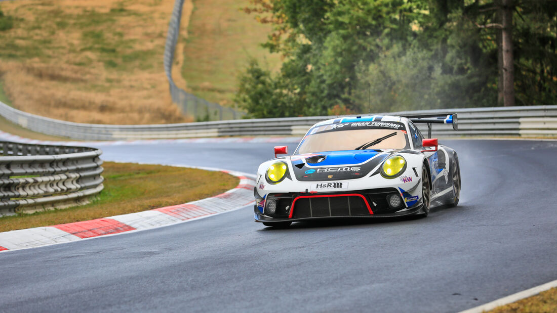 Porsche 911 GT3 R - KCMG - Startnummer  19 - 24h Rennen Nürburgring - Nürburgring-Nordschleife - 25. September 2020