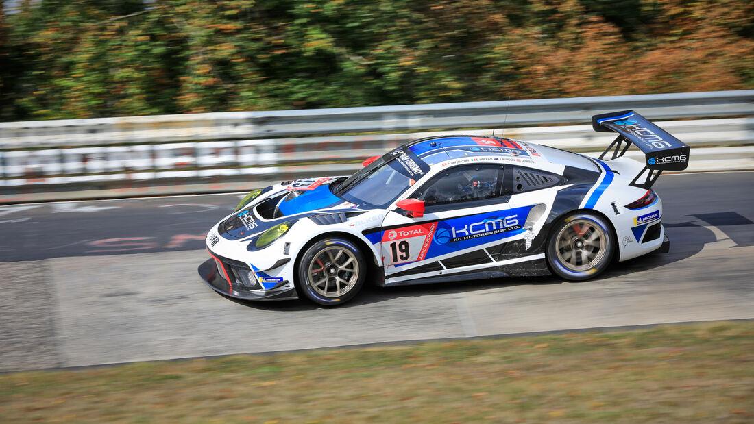 Porsche 911 GT3 R - KCMG - Startnummer #19 - 24h-Rennen - Nürburgring - Nordschleife - Donnerstag - 24. September 2020