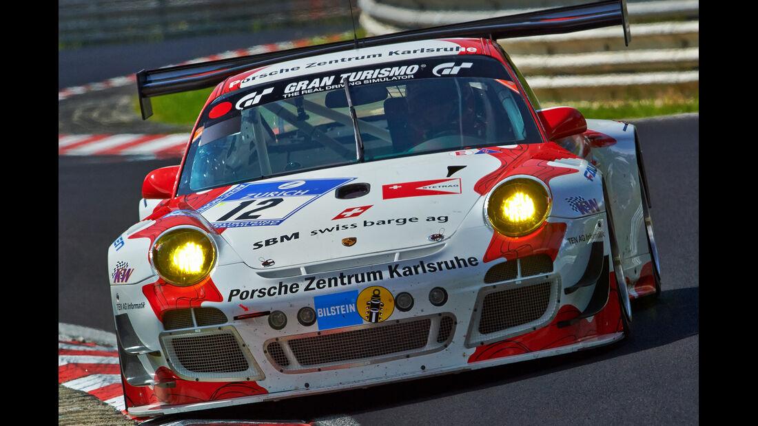 Porsche 911 GT3 R - Manthey Racing - Impressionen - 24h-Rennen Nürburgring 2014 - #12 - Qualifikation 1