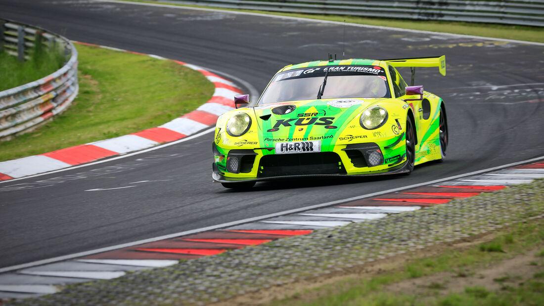 Porsche 911 GT3 R - Manthey Racing - Startnummer 911 - 24h Rennen Nürburgring - Nürburgring-Nordschleife - 4. Juni 2021