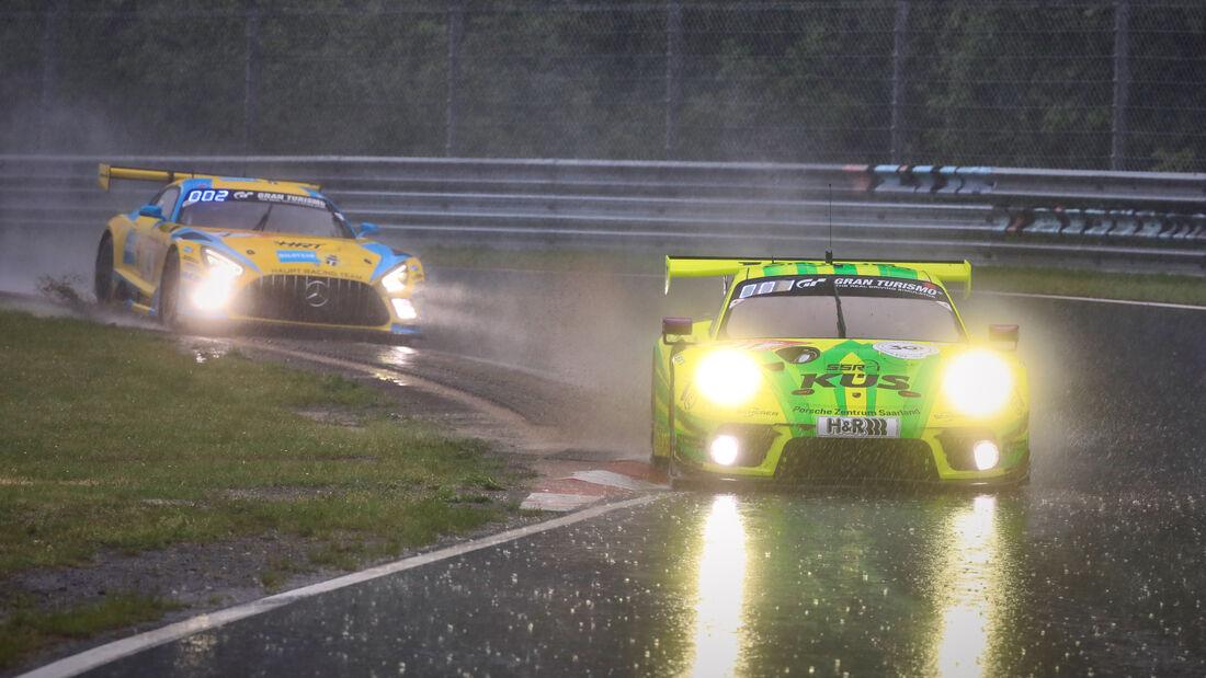 Porsche 911 GT3 R - Manthey-Racing - Startnummer #911 - 24h-Rennen Nürburgring - Nürburgring-Nordschleife - 5. Juni 2021