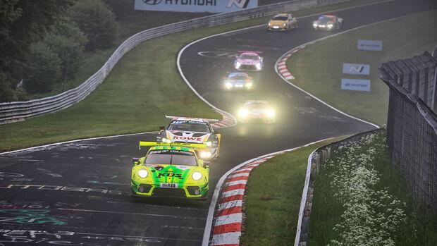 Porsche 911 GT3 R - Manthey-Racing - Startnummer #911 - 24h-Rennen Nürburgring - Nürburgring-Nordschleife - 6. Juni 2021