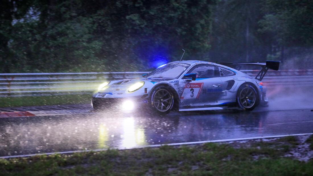 Porsche 911 GT3 R - Rutronik Racing - Startnummer #3 - 24h-Rennen Nürburgring - Nürburgring-Nordschleife - 4. Juni 2021