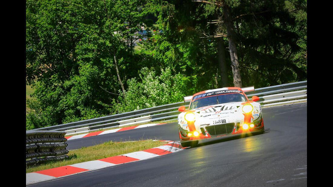 Porsche 911 GT3 R - Startnummer #12 - 24h Rennen Nürburgring - Nürburgring-Nordschleife - 23. Juni 2019
