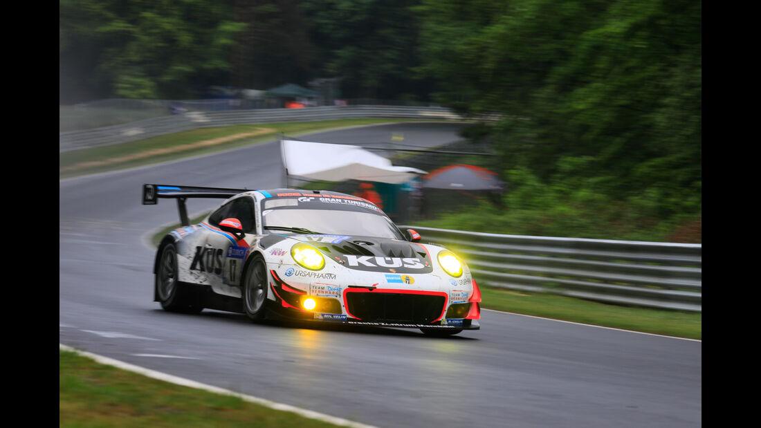 Porsche 911 GT3 R - Startnummer #17 - 24h-Rennen Nürburgring 2018 - Nordschleife - 13.5.2018