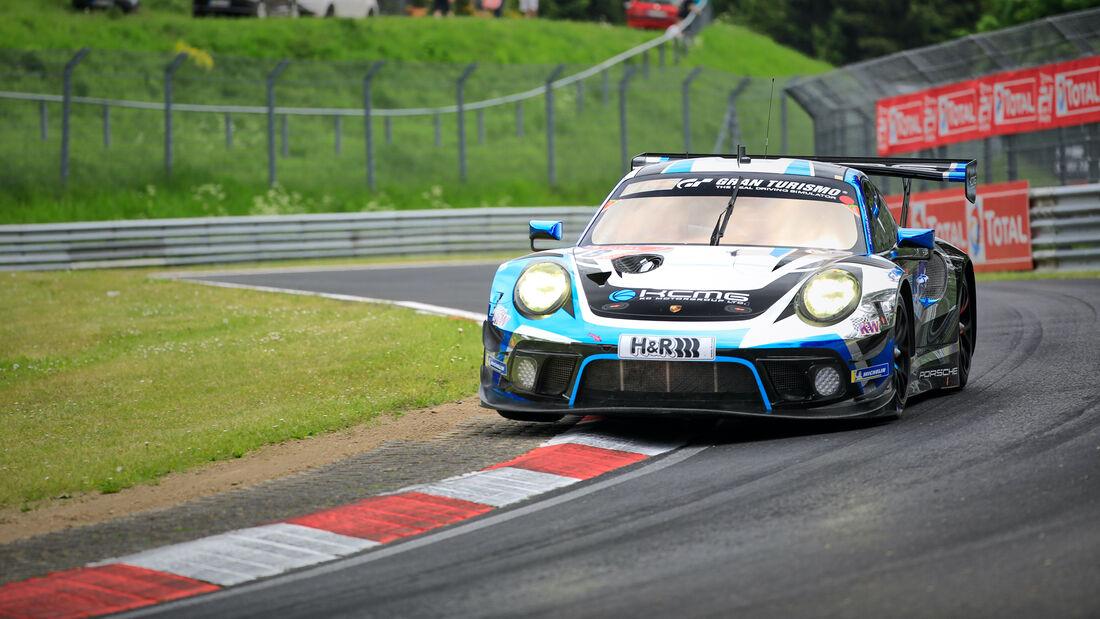 Porsche 911 GT3 R - Startnummer 18 - 24h Rennen Nürburgring - Nürburgring-Nordschleife - 3. Juni 2021