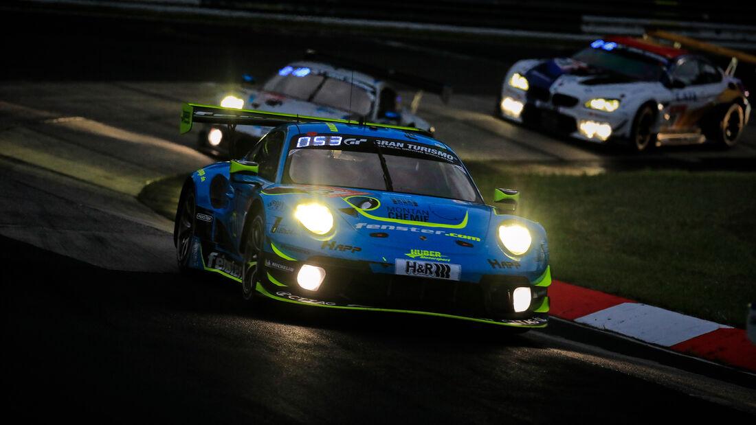 Porsche 911 GT3 R - Startnummer 23 - 24h Rennen Nürburgring - Nürburgring-Nordschleife - 3. Juni 2021