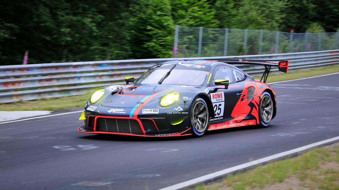 Porsche 911 GT3 R - Startnummer #25 - Huber Motorsport - SP9 Pro-Am - NLS 2020 - Langstreckenmeisterschaft - Nürburgring - Nordschleife