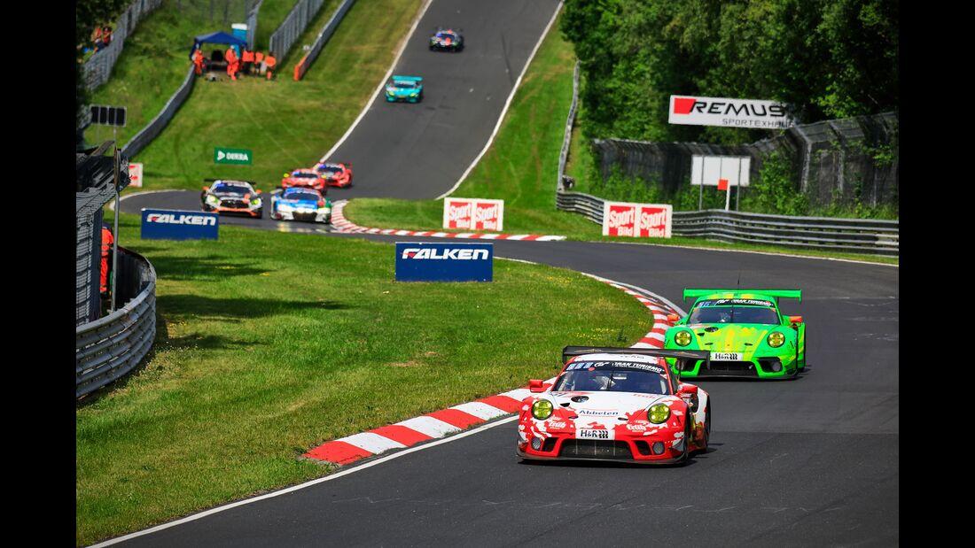 Porsche 911 GT3 R - Startnummer #31 - 24h Rennen Nürburgring - 22. Juni 2019