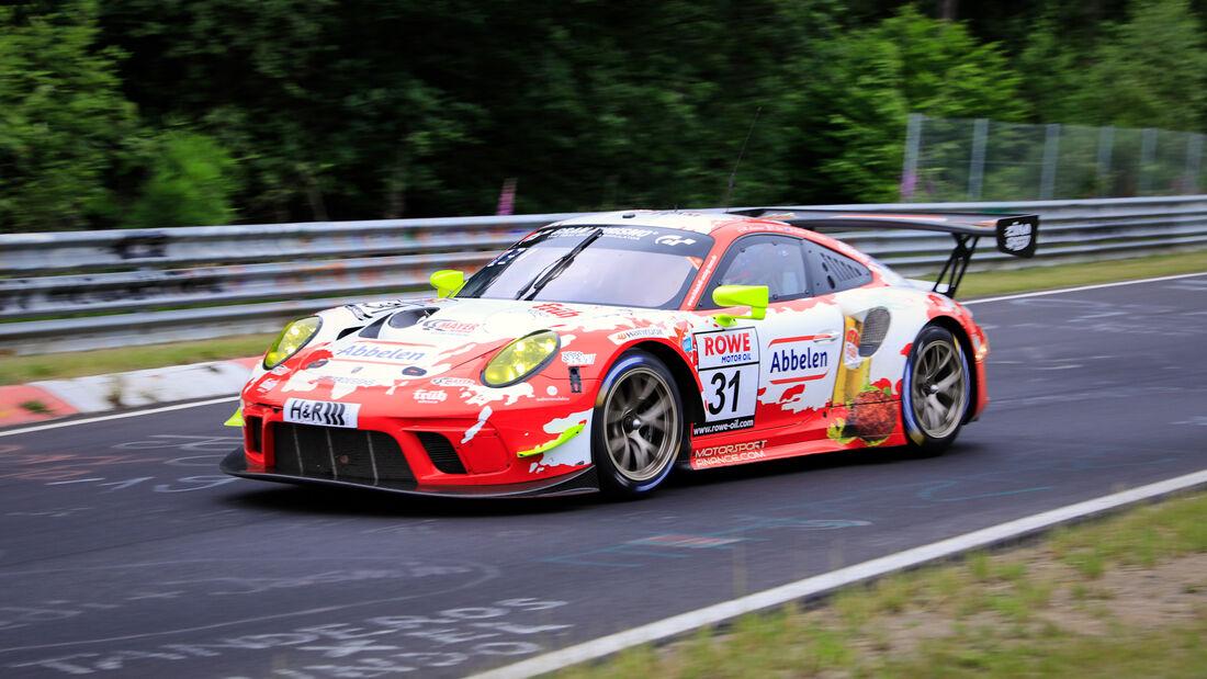 Porsche 911 GT3 R - Startnummer #31 - Frikadelli Racing Team - SP9 Pro -NLS 2020 - Langstreckenmeisterschaft - Nürburgring - Nordschleife
