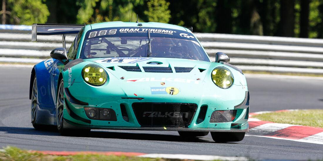 Porsche 911 GT3 R - Startnummer #44 - 2. Qualifying - 24h-Rennen Nürburgring 2017 - Nordschleife